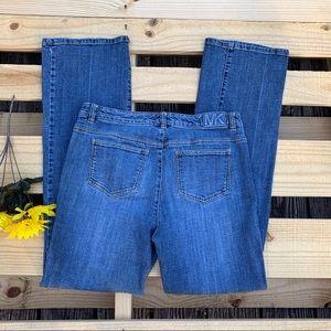 Women's Michael Kors Bootcut Denim Size 8/33